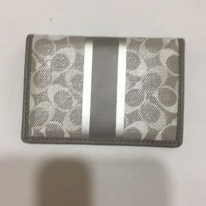 NWOT coach card holder